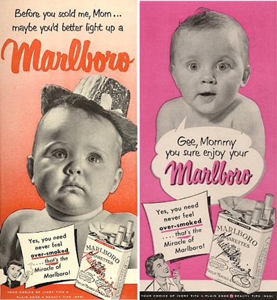 Marlboros for Mummy?