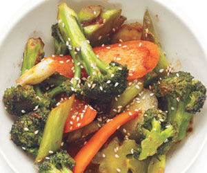 healthy brocoli stir fry