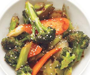 healthy brocoli stir fry